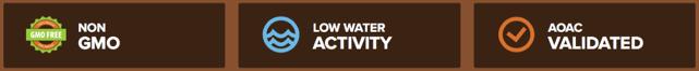 fibersmart alimentacion y producto funcional sin GMO poca agua y certificado